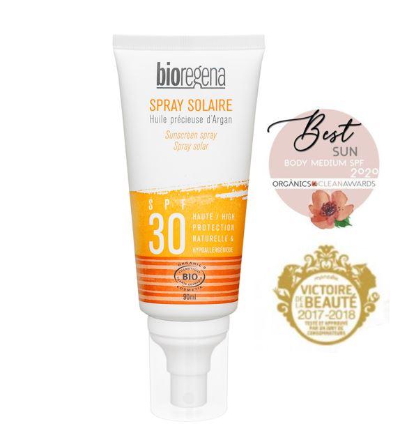 Bioregena Sunscreen spray SPF30 Face & body 90ml