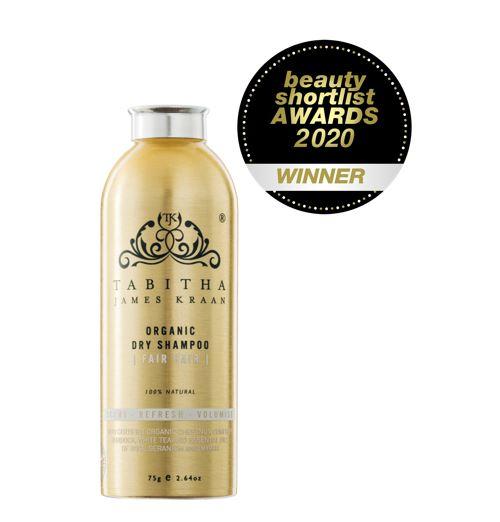 Tabitha James Kraan Organic Dry Shampoo Fair Hair 75g
