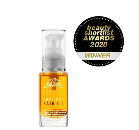 Tabitha James Kraan Scented Organic Hair Oil Amber Rose 30ml