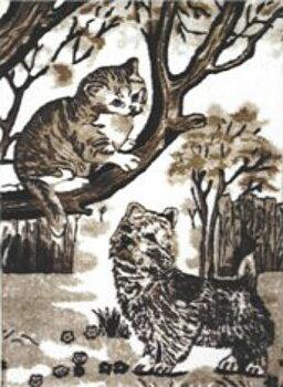 Motivpläd Katter i Träd