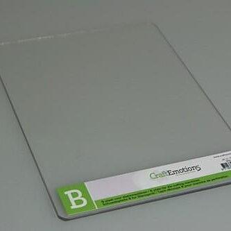 Cuttlebug B-Platta