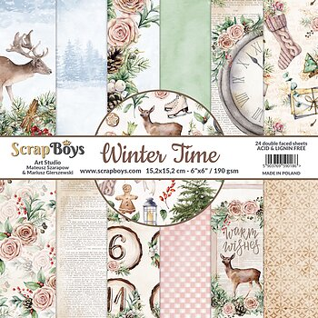 ScrapBoys Winter Time paperpad