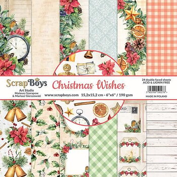 ScrapBoys Christmas Wishes paperpad