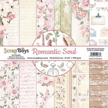 ScrapBoys Romantic Soul paperpad