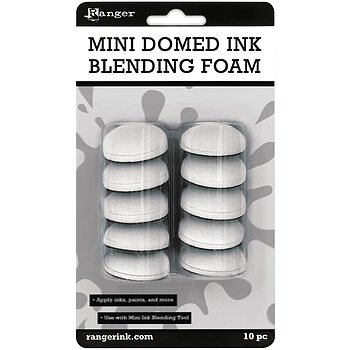 Mini Domed Ink Blending Foams 10/Pkg