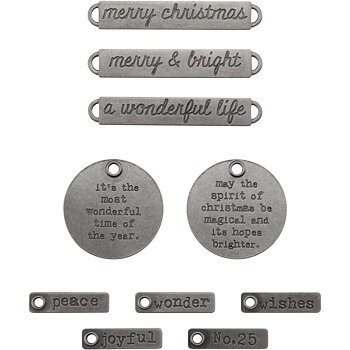 Idea-Ology Metal Adornments 10/Pkg