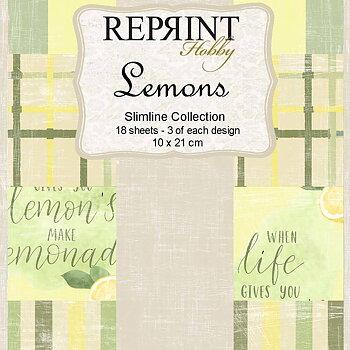 Slimline Lemons Collection pack