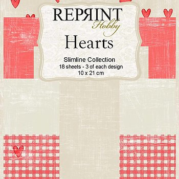 Slimline Hearts Collection pack