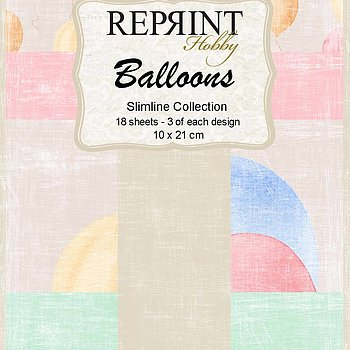 Slimline Balloons Collection pack