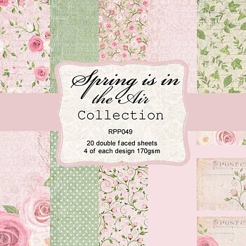 6 x 6 Spring is in the Air - Collection pack