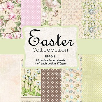 6 x 6 Easter Collection pack