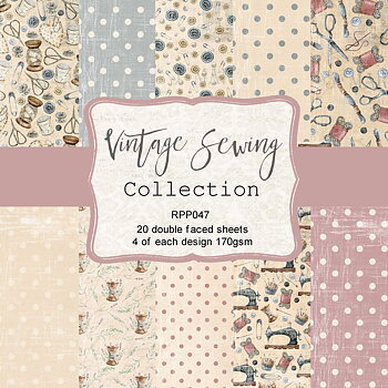 6 x 6 Vintage Sewing Collection pack