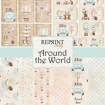 Around the World Collection pack A4