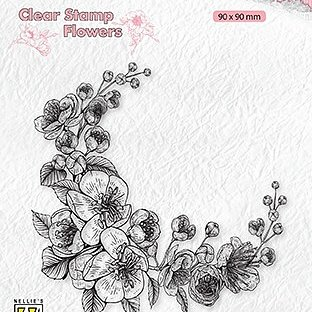 "Clear Stamps flowers ""Blossom corner"""