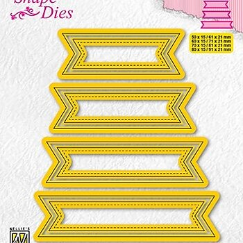 "Shape Dies ""set of 4 tags-1"""