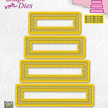 "Shape Dies ""set of 4 tags-2"""