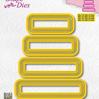 "Shape Dies ""set of 4 tags-3"""