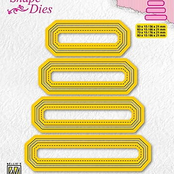 "Shape Dies ""set of 4 tags-4"""