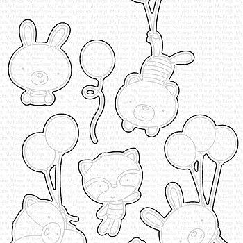Balloon Besties Die-namics