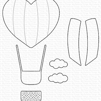 Heart Air Balloon Die-namics