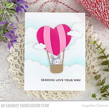 Heart Air Balloon Die-namics