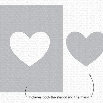 Heart Extraordinaire Stencil
