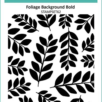 Clear Stamps - Foliage Background Bold