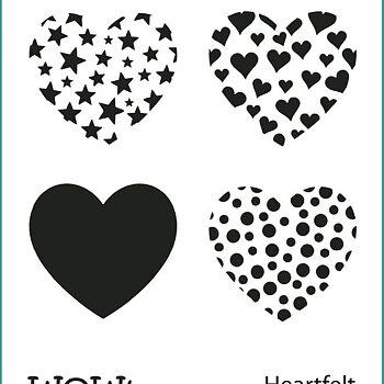 WOW! Stencil - Heartfelt