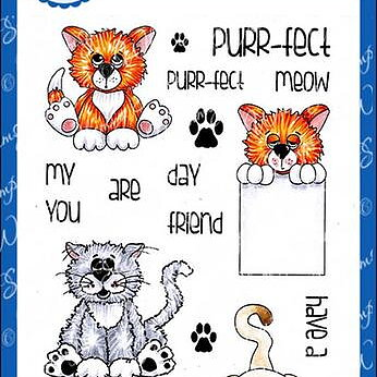Purrfect Pals - Clear Stamps
