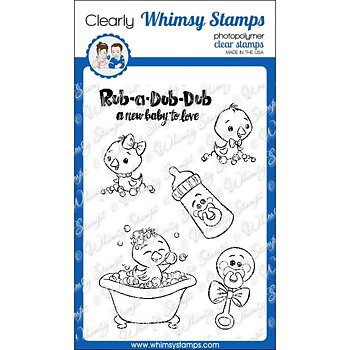 Rub a Dub Dub - Clear Stamps