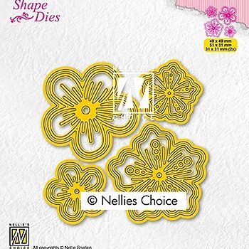 "Shape Dies ""Set of flowers"""