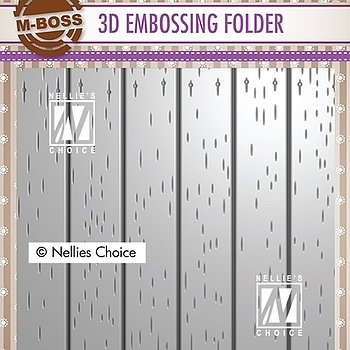 "3D Embossing folder ""stripe pattern-2"""