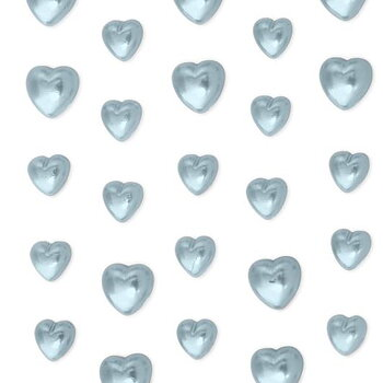 Rhinestones self-adhesive Hearts Blue