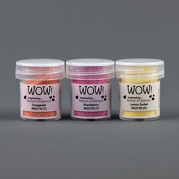 WOW Trio Embossingpulver - Summer Scoops