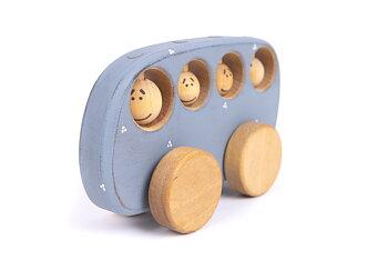 Fordon - BUSS PRICKIG, Friendly Toys