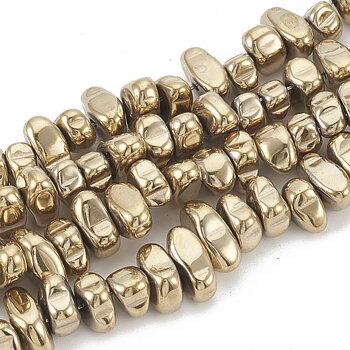 Hematit nuggets guld halvädelsten