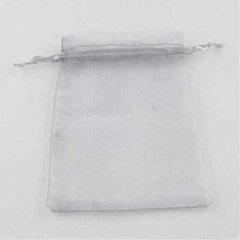 Organzapåsar grå 10st