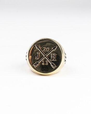 Cesar 13 Gold Ring