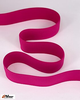 50 mm wide elastic  - Fuchsia