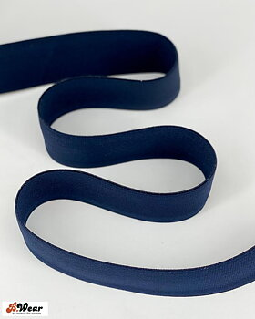50 mm wide elastic  - Navyblue