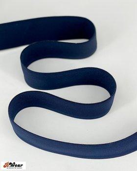 50 mm bred resår - Marinblå