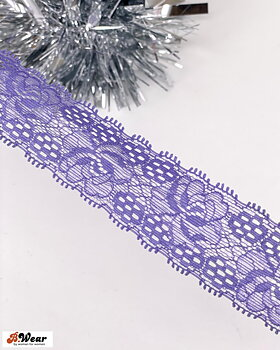 Stretch lace in Lavender