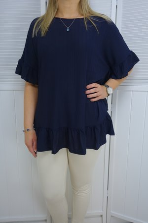 Chica London - Linnea Blus Volang Navy