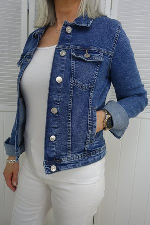 Only - Tia Life Denim Jacket Medium Blue Noos