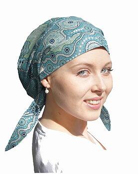 Luna Bonnet, sjal som du enkelt sätter på huvudet