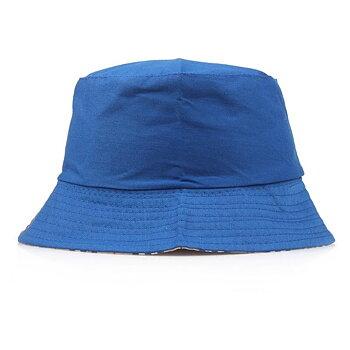 Ally klarblå vändbar hatt