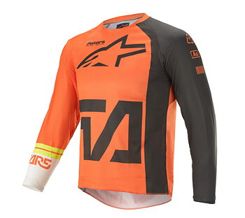 Alpinestars Junior Tröja Racer Compass Grå/Orange