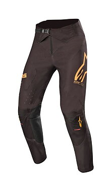 Alpinestars Supertech Byxor Svart/Orange/Röd Fluo