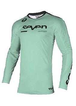 Seven Rival Rampart Jersey, Black/Mint