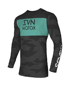 Seven Vox Pursuit Jersey, Black